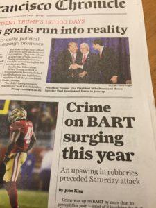 BART Accident Lawyer San Francisco
